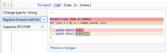 Visual Studio 2019 extension - Roslynator