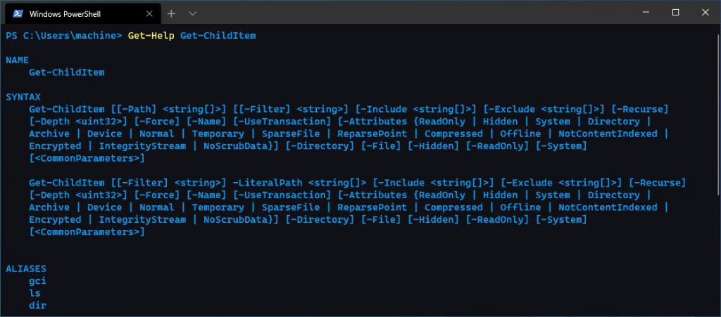 customize Windows Terminal blue matrix theme