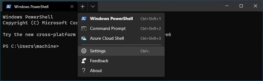 How to add a new profile in Windows Terminal 2