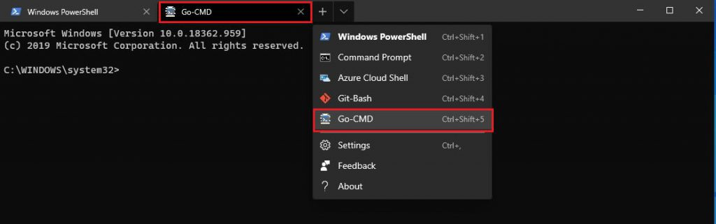 How to add a new profile in Windows Terminal 4